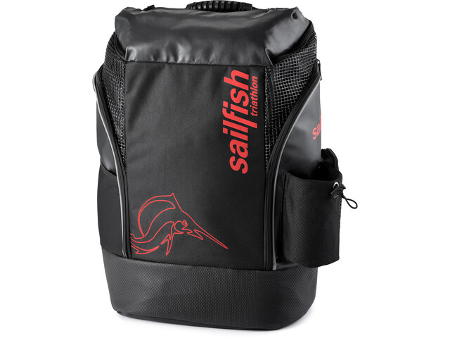 sailfish Cape Town Backpack 36L, black/ red